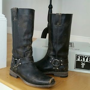 FRYE SMITH HARNESS tall boot